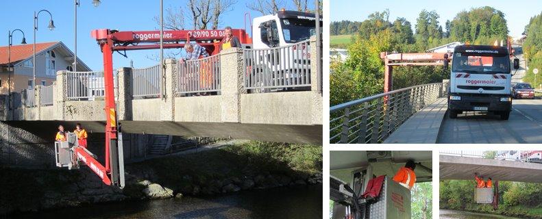 Brückenprüfungen Traunstein